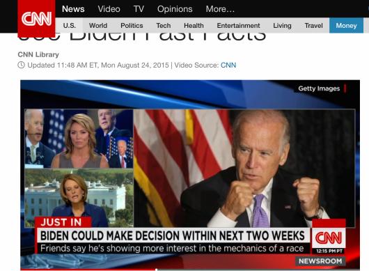 Screen-shot from CNN.com